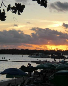 Boca Chica Beach Sunset