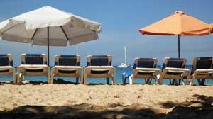 Sosua Beach Chairs Umbrella
