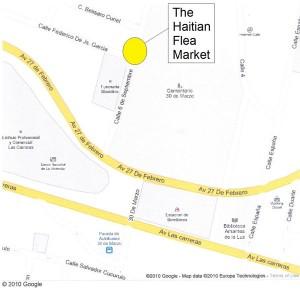 Haitian Flea Market Map