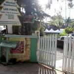 Los Pinos Street Entrance