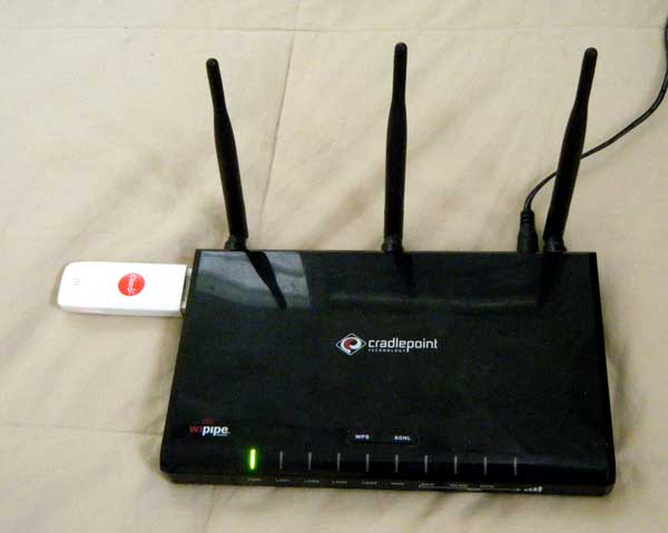 Cradle Point Router