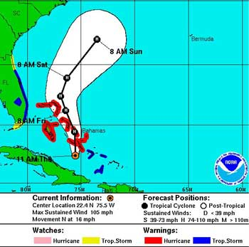 Hurricane Sandy map 10-25-2012