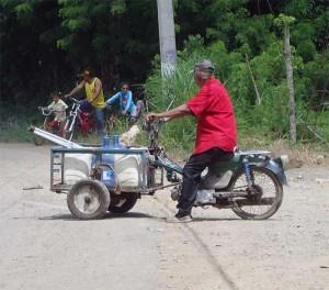 Custom Dominican Work Bike